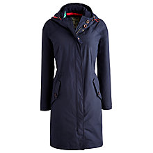 Buy Joules Waterproof Long Parka, Marine Navy Online at johnlewis.com