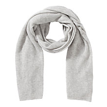 Buy Winser Cashmere Wrap, Grey Melange Online at johnlewis.com