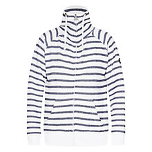 Buy Barbour Sweatshirt, Navy/White Online at johnlewis.com