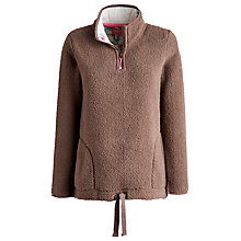 Buy Joules Bonita Fleece, Praline Online at johnlewis.com