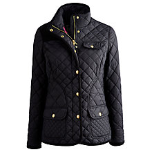 Buy Joules Caverly Coat, Black Online at johnlewis.com