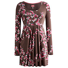 Buy Joules Alexi Tunic Dress, Praline Blossom Online at johnlewis.com