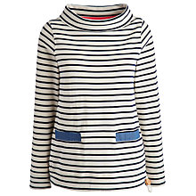 Buy Joules Connick Sweatshirt, Cream Navy Stripe Online at johnlewis.com