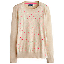 Buy Joules Kristen Jumper, Pebble Marl Online at johnlewis.com