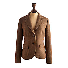 Buy Joules Women's Single Breasted Tweed Blazer, Mallory Tweed Online at johnlewis.com