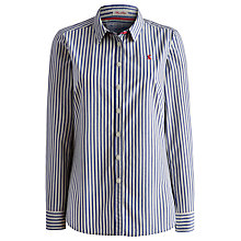 Buy Joules Kingston Lake Stripe Cotton Shirt, Lake Blue Online at johnlewis.com
