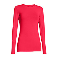 Buy Under Armour Infrared Long Sleeve T-Shirt, Pink Online at johnlewis.com