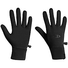 Buy Icebreaker Sierra Gloves, Black Online at johnlewis.com