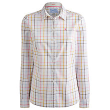 Buy Joules Oxford Shirt, Chalk Check Online at johnlewis.com