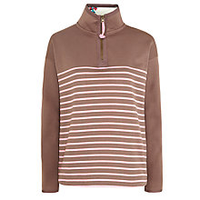Buy Joules Southwold Sweater, Pretty Pink Stripe Online at johnlewis.com
