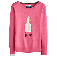 Buy Joules Marsha Beagle Jumper, Raspberry Pink Online at johnlewis.com
