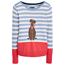Buy Joules Marsha Bertie Jumper, Blue Marl Online at johnlewis.com
