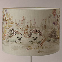 Buy Voyage Mr & Mrs Hedgehog Drum Shade Online at johnlewis.com