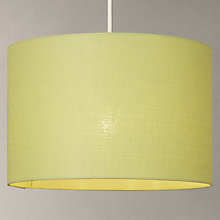 Buy John Lewis Samantha Lampshade, Fennel Online at johnlewis.com