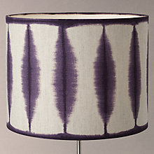 Buy Harlequin Shibori Drum Lampshade Online at johnlewis.com