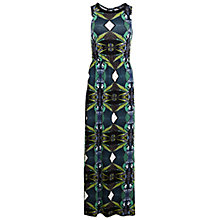 Buy Miss Selfridge Tropical Bead Maxi Dress, Multi Online at johnlewis.com