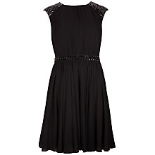 Buy Ted Baker Beaded Detailed Dress, Black Online at johnlewis.com