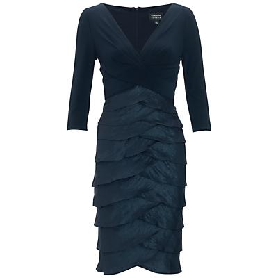 Adrianna Papell Shimmer Artichoke Dress, Eclipse