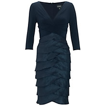 Buy Adrianna Papell Shimmer Artichoke Dress, Eclipse Online at johnlewis.com