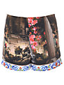 True Decadence Floral Temple Co-Ord Shorts, Multi