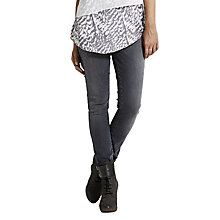 Buy Mint Velvet Tahoe Skinny Jeans, Dark Grey Online at johnlewis.com