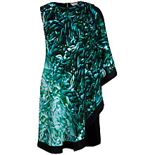 Buy Ted Baker Rosette Printed Tunic Dress, Mid Green Online at johnlewis.com