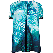 Buy Ted Baker Landscape Top, Light Green Online at johnlewis.com