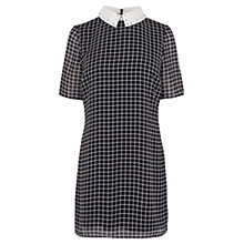 Buy Coast Jaxson Check Shirt Dress, Black / White Online at johnlewis.com