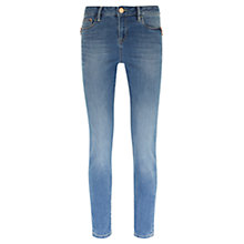 Buy Mint Velvet Boston Indigo Jeans, Light Blue Online at johnlewis.com