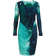 Buy Ted Baker Landscape Dress, Light Green Online at johnlewis.com