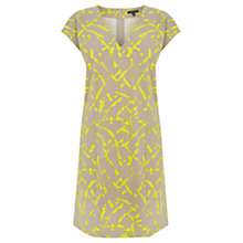 Buy Warehouse Texture Print Shift Dress, Multi Online at johnlewis.com