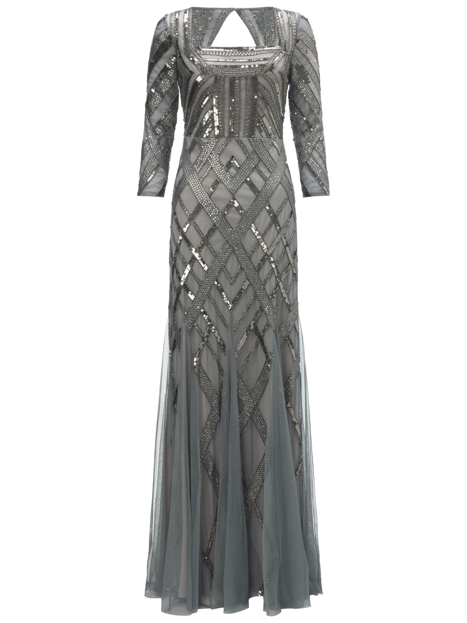 adrianna papell bead art deco dress slate, adrianna, papell, bead, art, deco, dress, slate, adrianna papell, 16|10|12|20|18|14|8, women, eveningwear, special offers, womenswear offers, 30% off selected adrianna papell, plus size, brands a-k, womens dresses, party outfits, evening gowns, gifts, wedding, wedding clothing, adult bridesmaids, 1647245