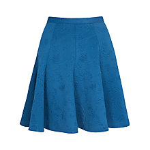 Buy Almari Embossed Scuba Panel Skirt, Petrol Online at johnlewis.com