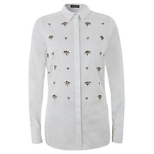 Buy Mint Velvet Embellished Shirt Online at johnlewis.com