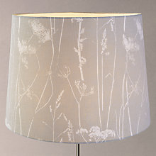 Buy John Lewis Croft Collection Grasses Tapered Shade, Grey Online at johnlewis.com