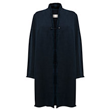 Buy East Isla Heavy Linen Mix Jacket, Ink Online at johnlewis.com