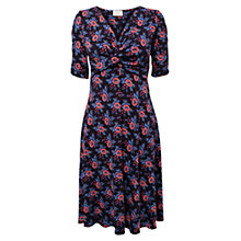 Buy East Julia Print Jersey Dress, Ink Online at johnlewis.com
