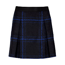 Buy Ted Baker Checked Flippy Skirt, Bright Blue Online at johnlewis.com