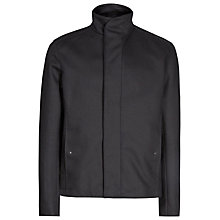Buy Reiss Faxon Funnel Collar Jacket, Navy Online at johnlewis.com