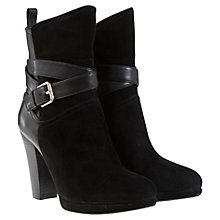 Buy Mint Velvet Erin Leather/Suede Ankle Boots Online at johnlewis.com