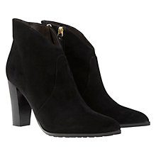 Buy Mint Velvet Elsie Leather/Suede Boots Online at johnlewis.com
