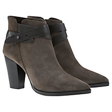 Buy Mint Velvet Lexi Leather Ankle Boots Online at johnlewis.com