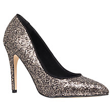 Buy Miss KG Carrie Glitter Ocasion Shoes, Black Online at johnlewis.com