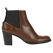 Buy NW3 by Hobbs Dylan Ankle Boots, Chestnut Online at johnlewis.com