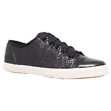 Buy Carvela Jasper Glitter Trainers Online at johnlewis.com