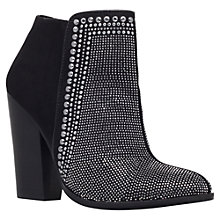 Buy Carvela Special Studded High Heeled Ankle Boots, Black Online at johnlewis.com