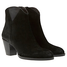 Buy Mint Velvet Evie Leather Nubuck Boots Online at johnlewis.com