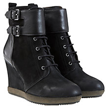 Buy Mint Velvet Letty Leather Ankle Boots Online at johnlewis.com