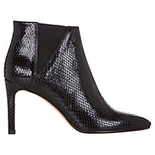 Buy Hobbs Kira Heeled Chelsea Ankle Boots,  Snake Effect Online at johnlewis.com