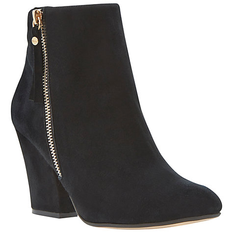 Buy Dune Ninety Suede High Heel Ankle Boots Online at johnlewis.com